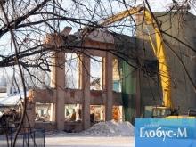На стадионе «Динамо» проходит реставрация барельефов Меркурова