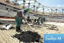 ФИФА пытается улучшить условия жизни строителей в Катаре