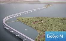 Для возведения Керченского моста в Тамани построят технологическую дорогу