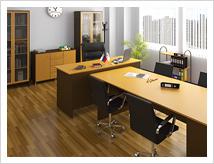 Офисная мебель в едином стиле