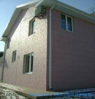 Коттедж №3 в г.Находка отделка фасада алюминиевыми сайдинг панелями HANYI (рис.4)
