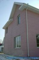 Коттедж №3 в г.Находка отделка фасада алюминиевыми сайдинг панелями HANYI (рис.5)